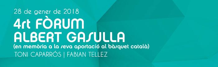 4t Fòrum Albert Gasulla (Sabadell)