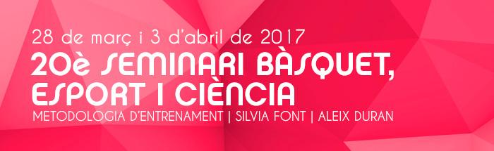 20è Seminari Bàsquet, Esport i Ciència ACEB (Barcelona)