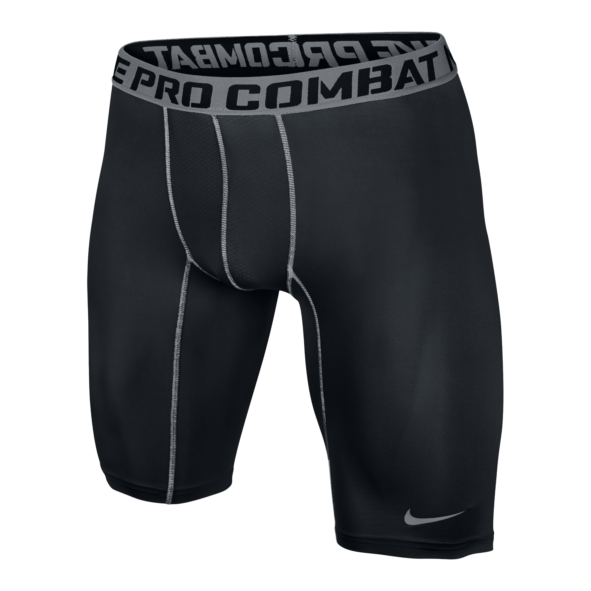 Nike Pro Combat Core Compression 2.0 Shorts 9' Svart/Grå