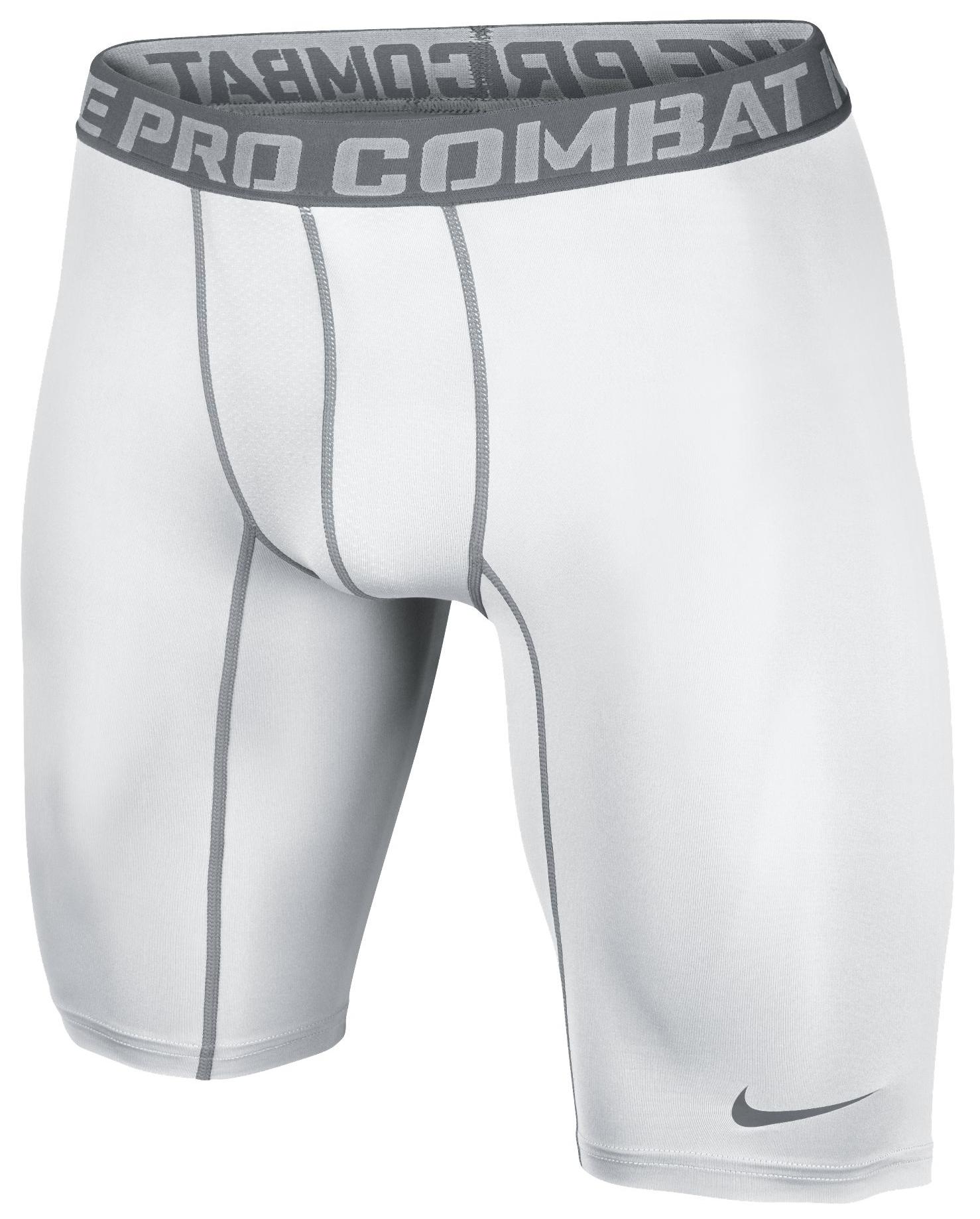 Nike Pro Combat Core Compression 2.0 Shorts 9' Vit/Grå