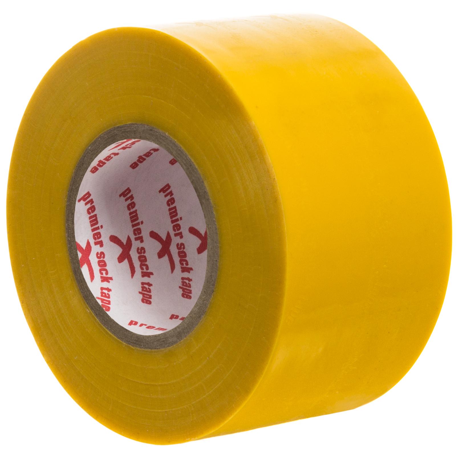 Premier Sock Tape Strumptejp Bred 20m Gul