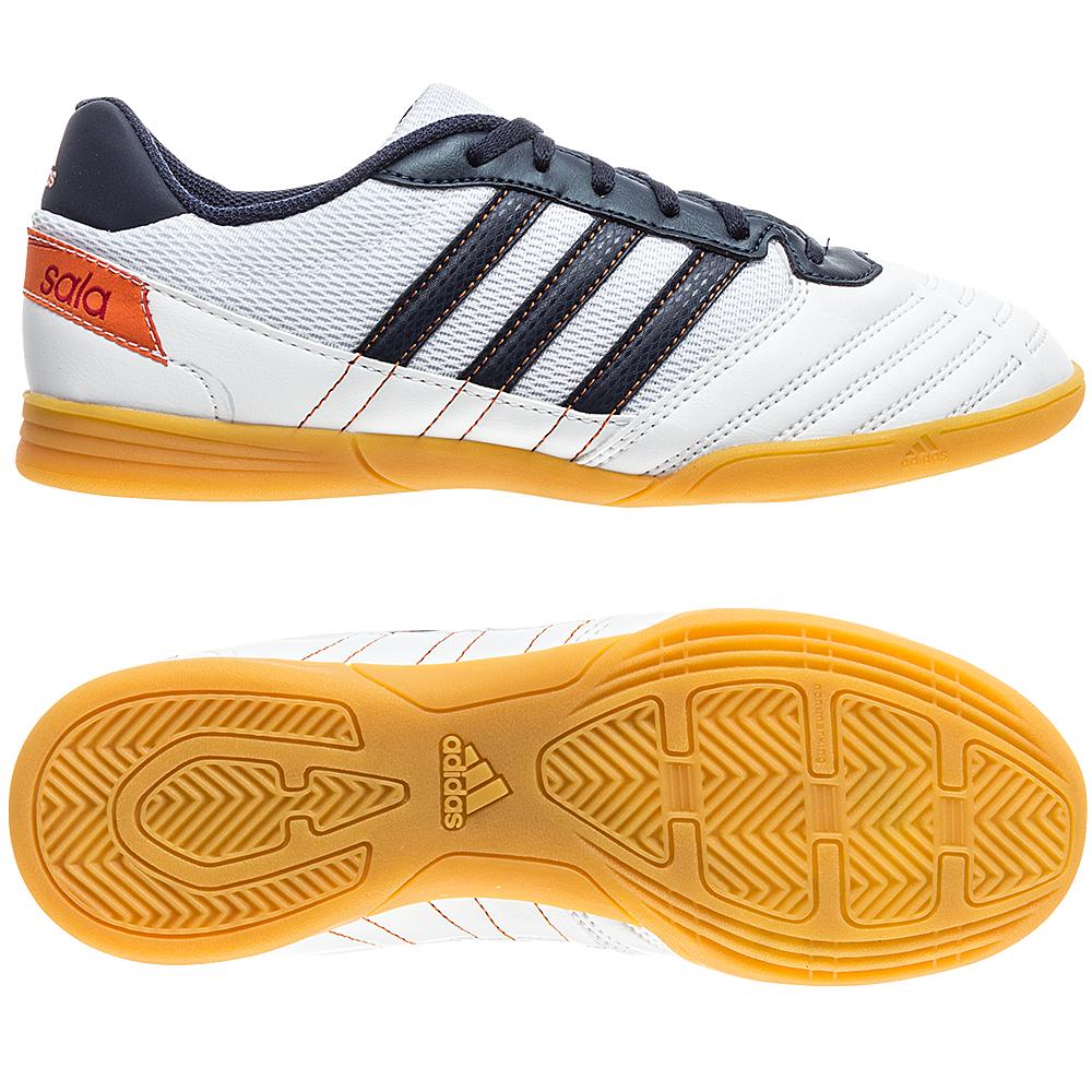 adidas Freefootball SuperSala Vit/Navy Barn