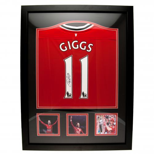 Manchester United Giggs Signerad Matchtröja