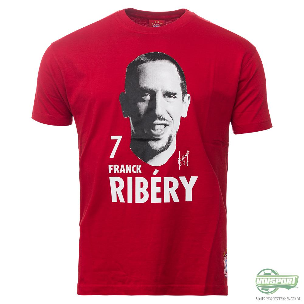 bayern m nchen t shirt ribery red. Black Bedroom Furniture Sets. Home Design Ideas