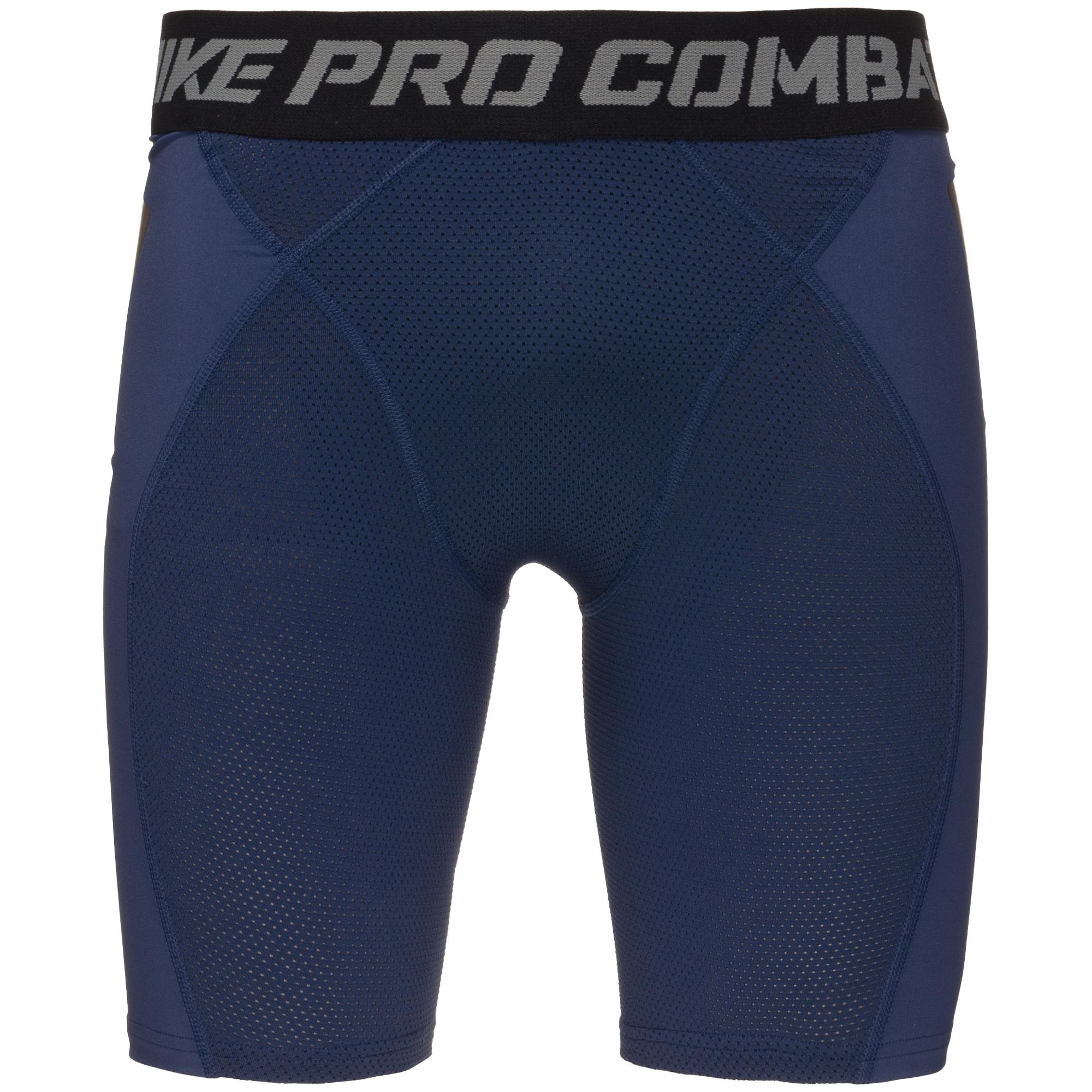 Nike Pro Combat Hyperstrong Ultralight Slider Värmebyxor Mörkblå