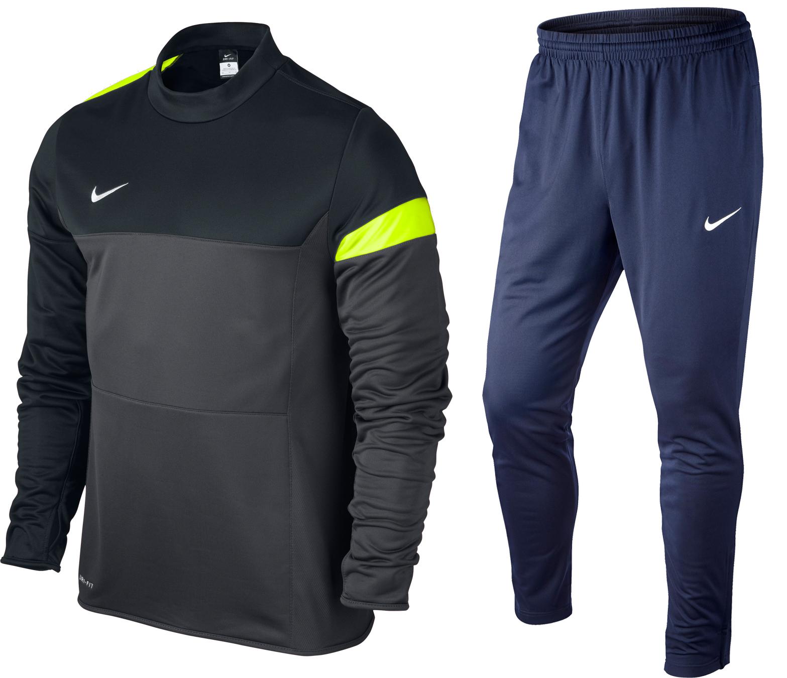 Nike Träningsställ Svart/Navy Barn