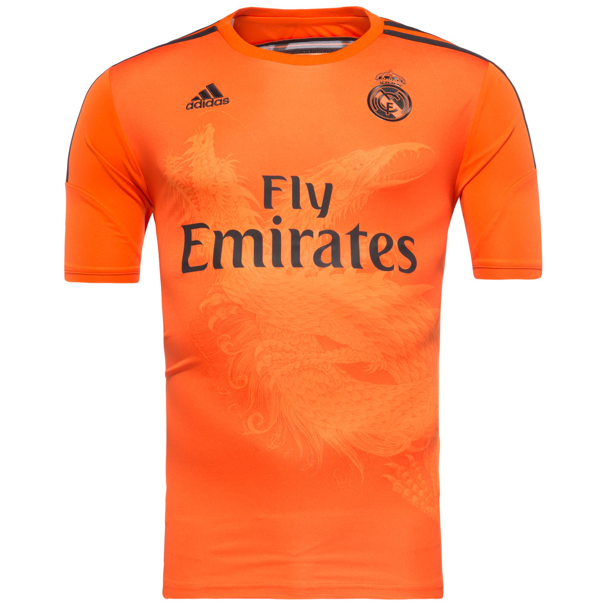 Real Madrid Målvaktströja 2014/15 Orange Barn