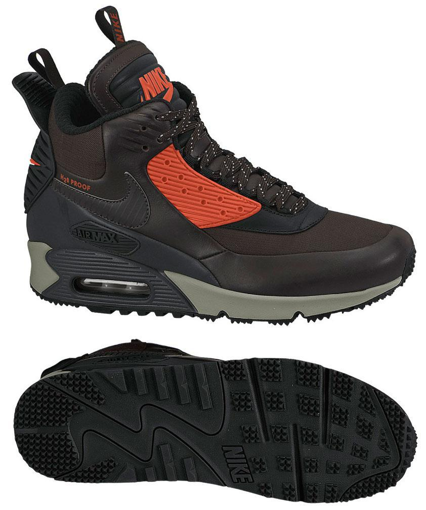 Nike Air Max 90 Sneakerboot Winter Brun