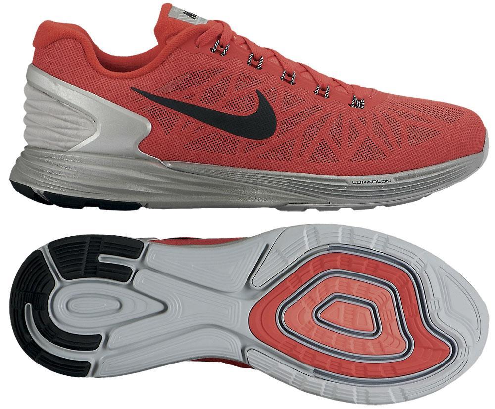 Nike Löparskor Lunarglide 6 Flash Röd/Grå