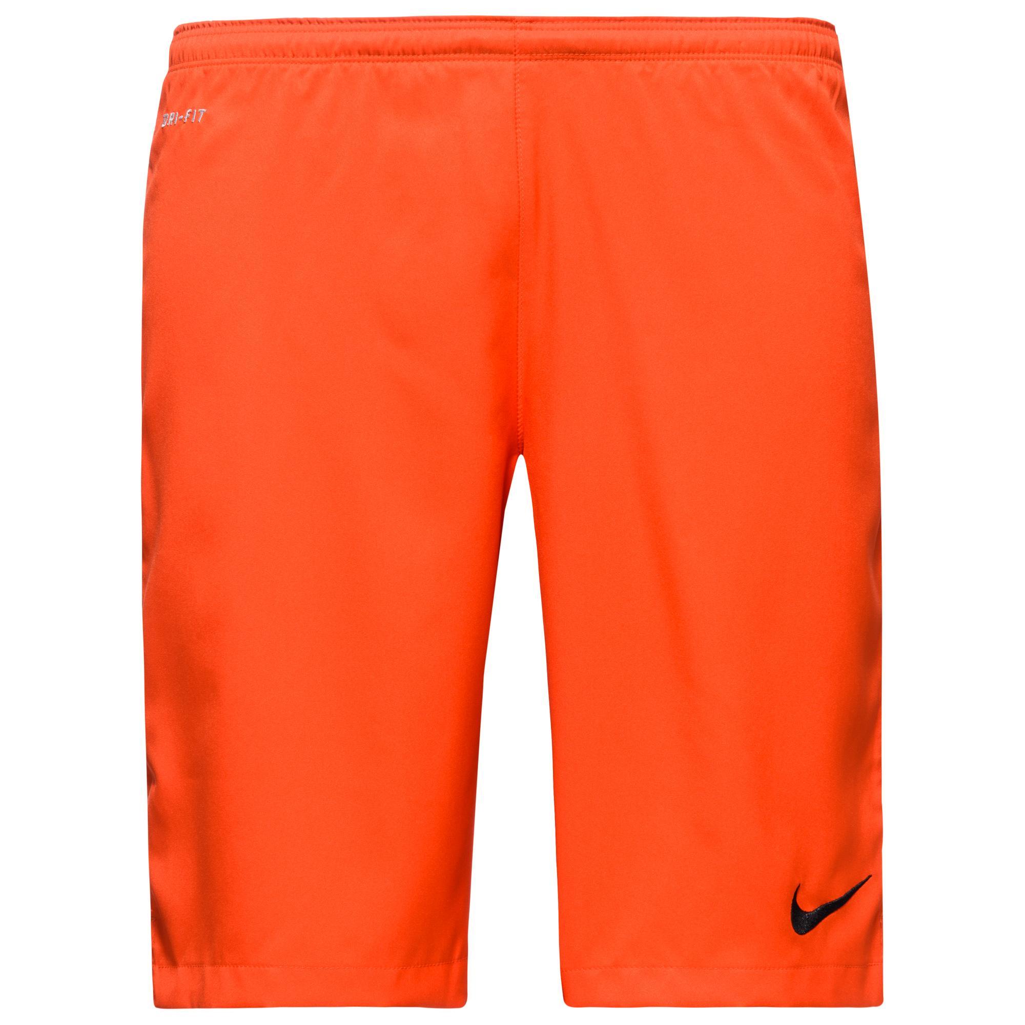 Nike Shorts Longer Squad Strike Woven Orange/Grå
