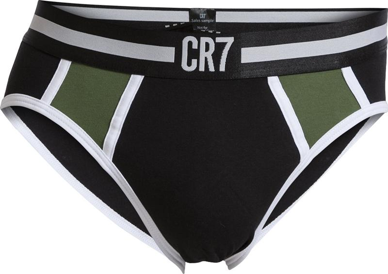 CR7 Underwear Briefs Fashion Svart/Grön