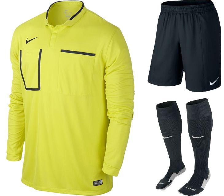 Nike Domarställ Neon/Svart L/Ä