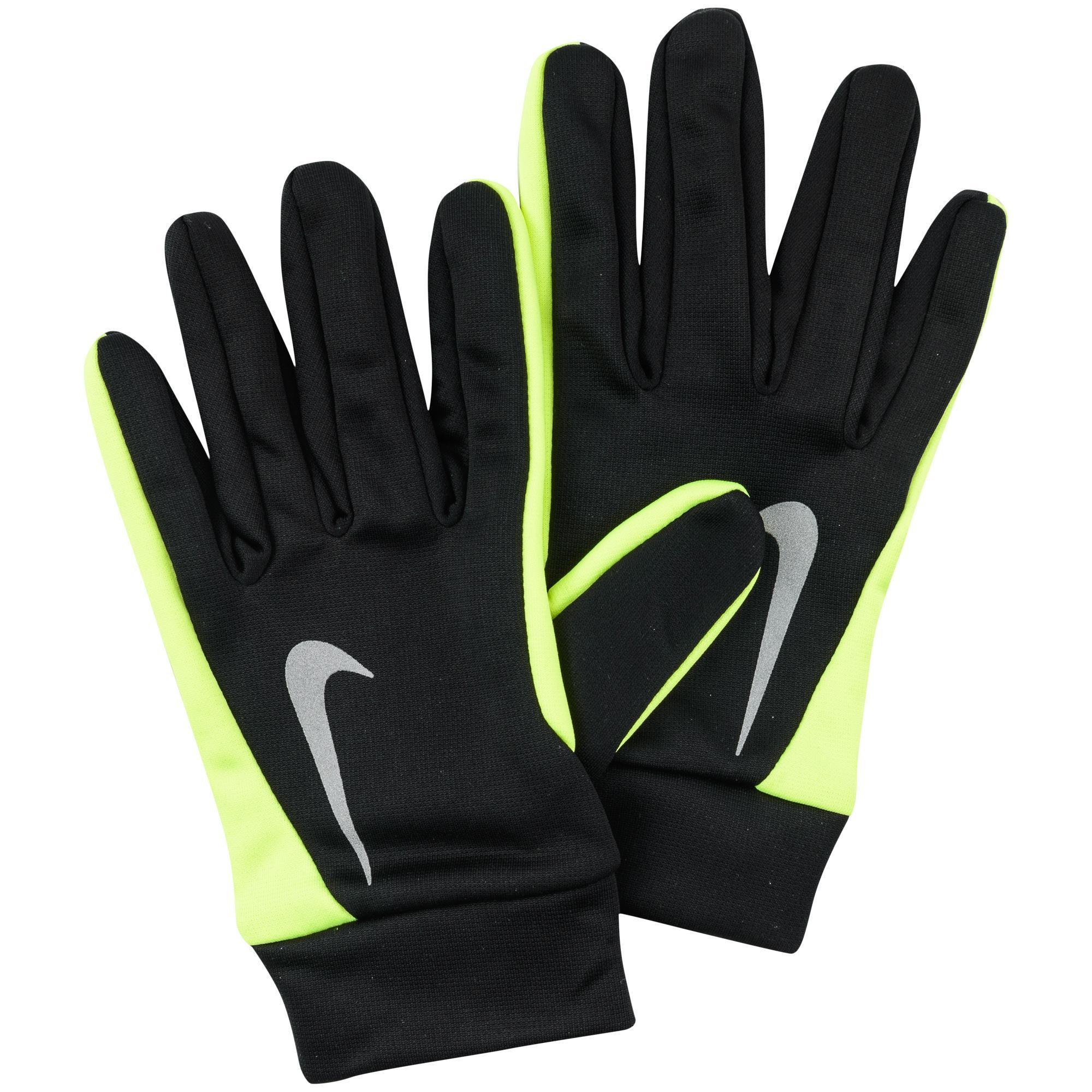 Nike Spelarhandskar Hyperwarm Svart/Neon