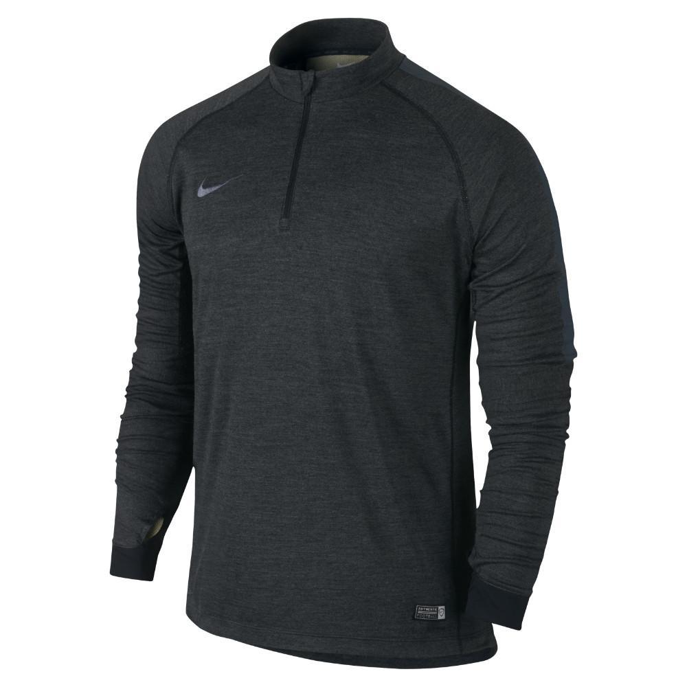 Nike Träningströja Midlayer Select Ignite L/Ä Svart/Grå