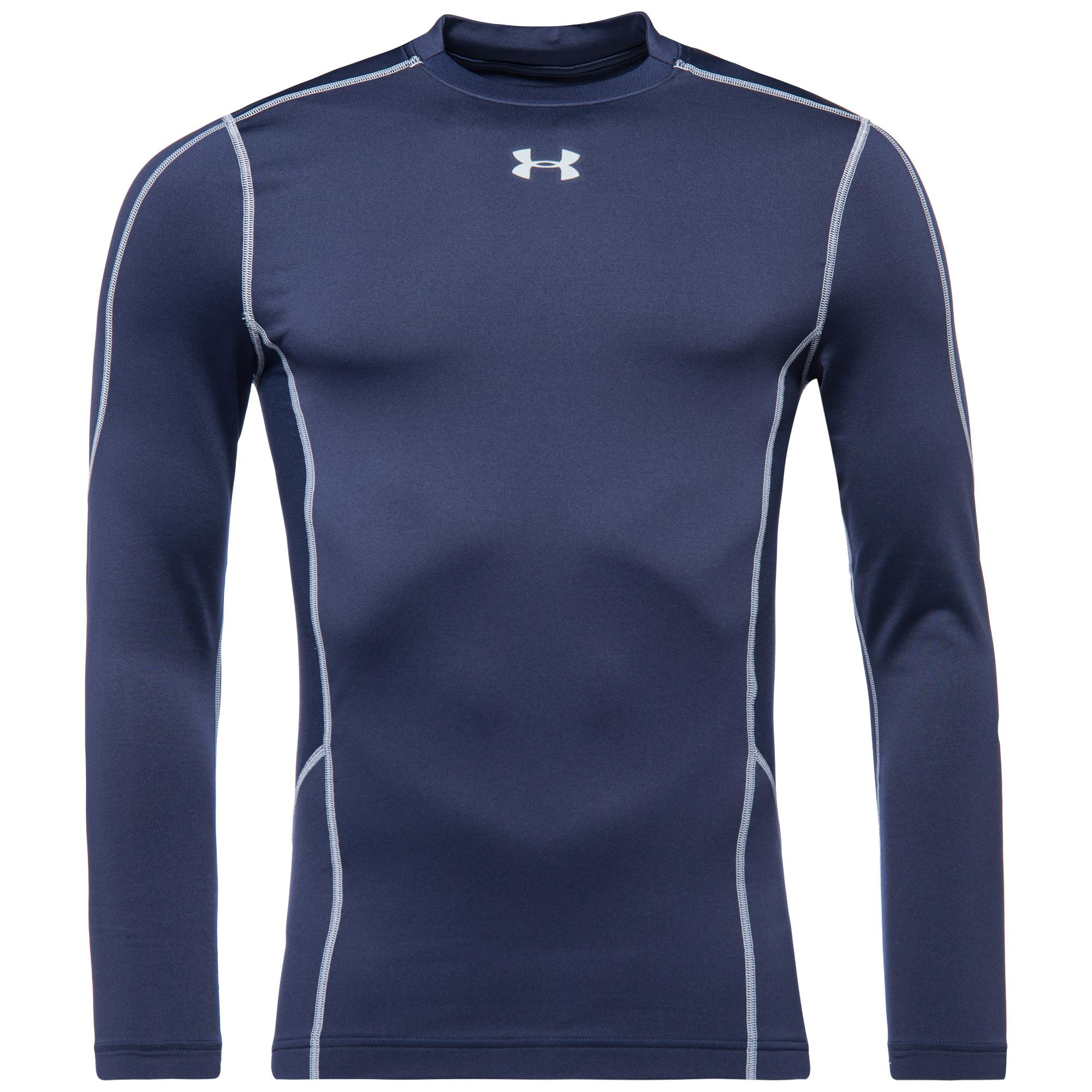 Under Armour ColdGear Evo Compression Hybrid Mock L/Ä Navy