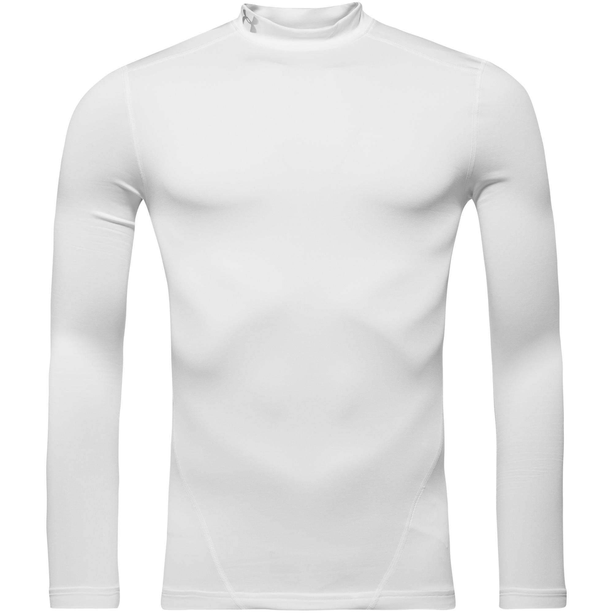 Under Armour ColdGear Evo Compression Mock L/Ä Vit