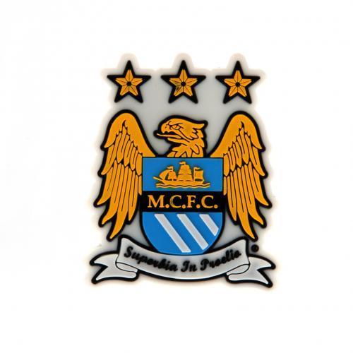 Manchester City Kylskåpsmagnet 3D