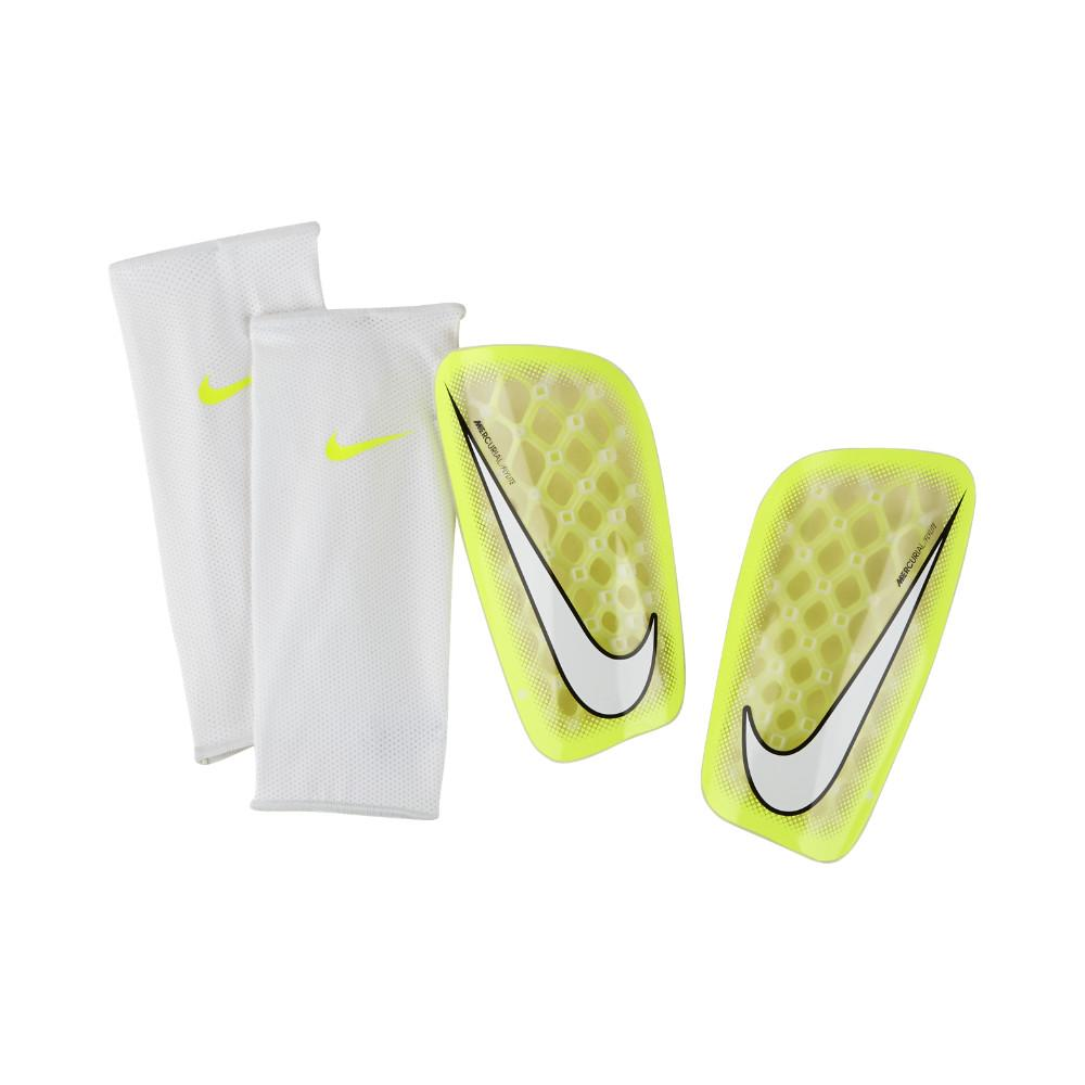 Nike Benskydd Mercurial Flylite Guard Neon/Vit
