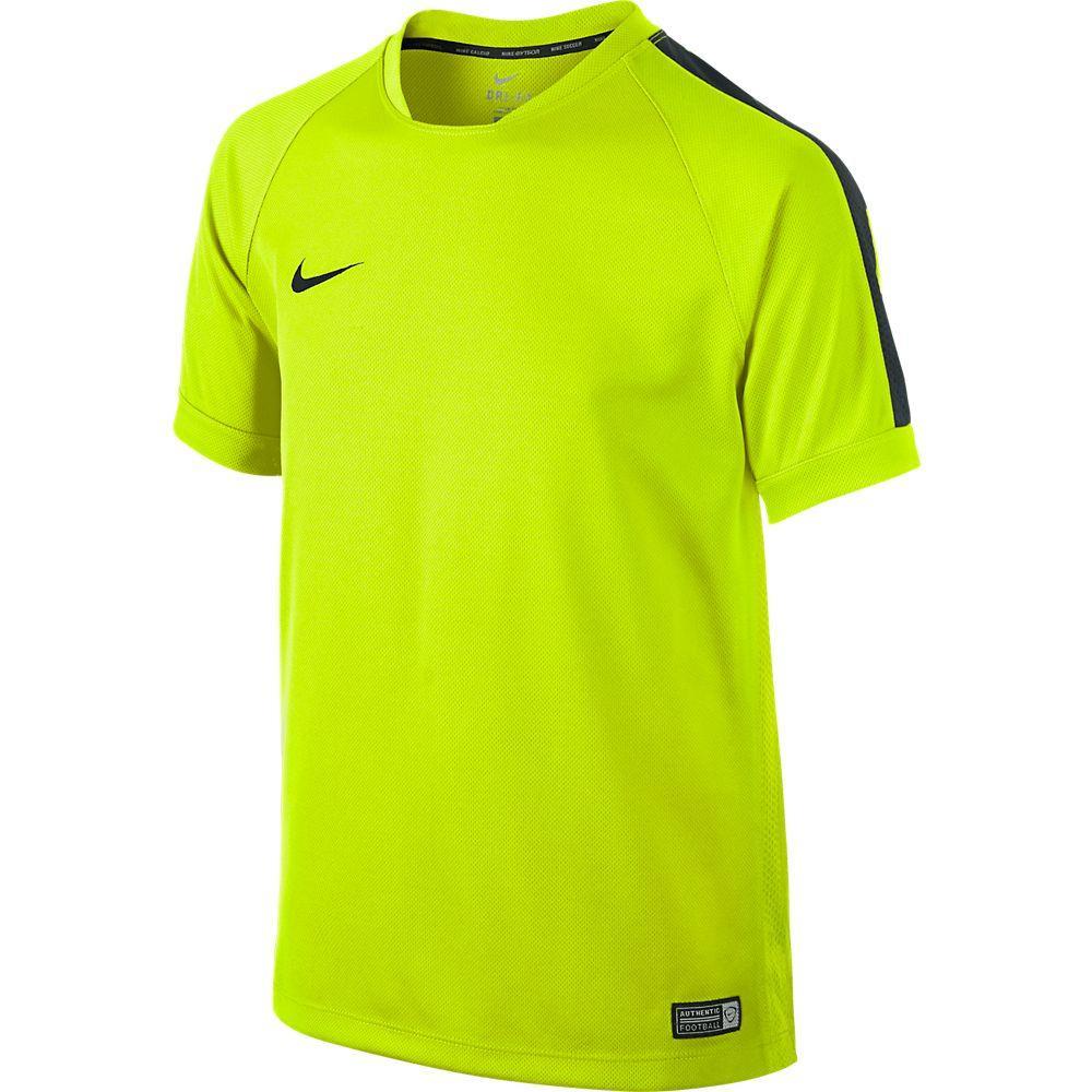 Nike Tränings T-Shirt Squad Flash II Neon/Svart Barn