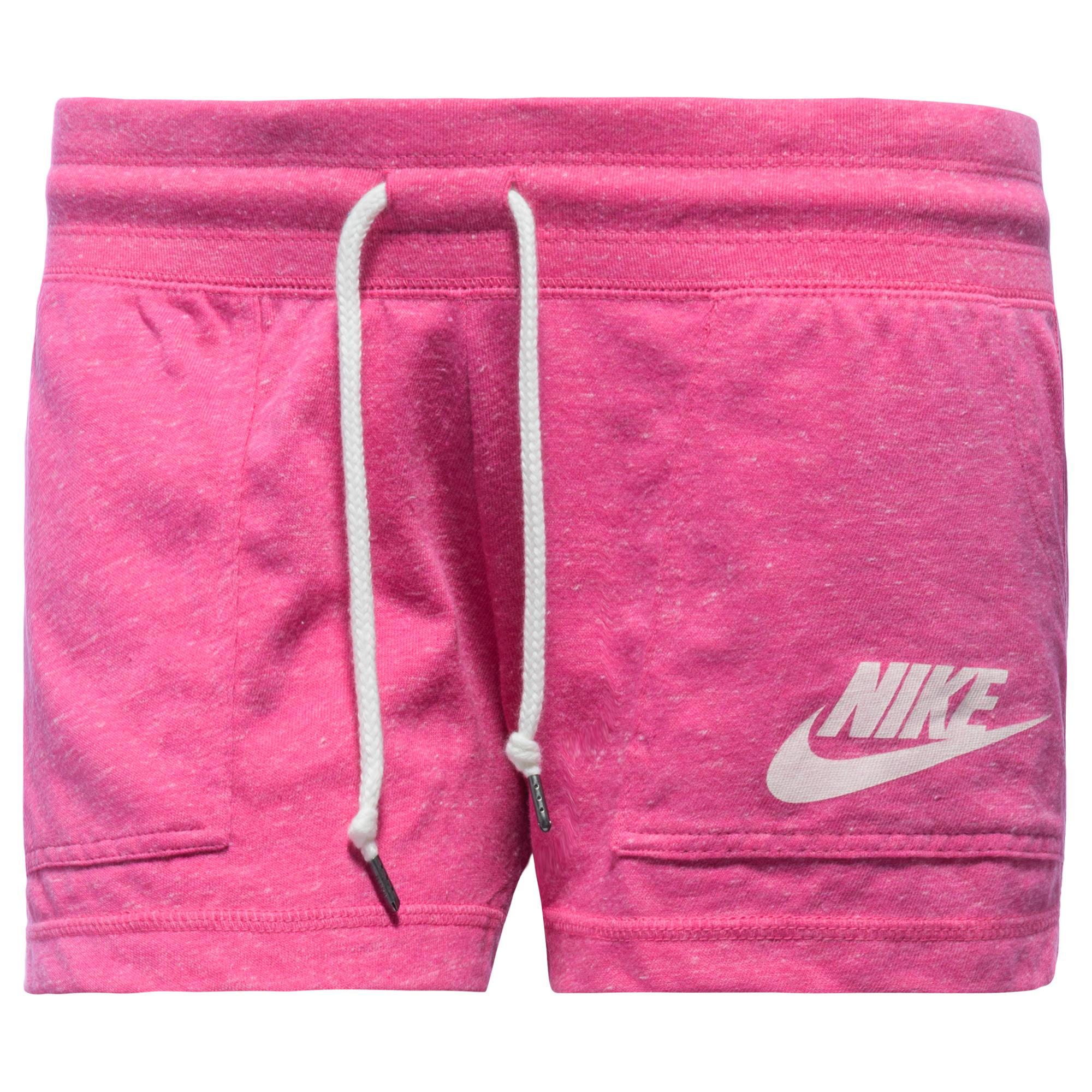 Nike Shorts Gym Vintage Rosa/Vit Dam