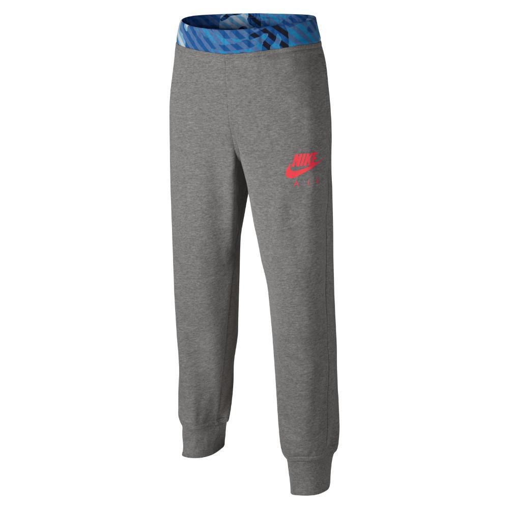 Nike Träningsbyxor Camo FT Cuffed Grå/Blå Barn