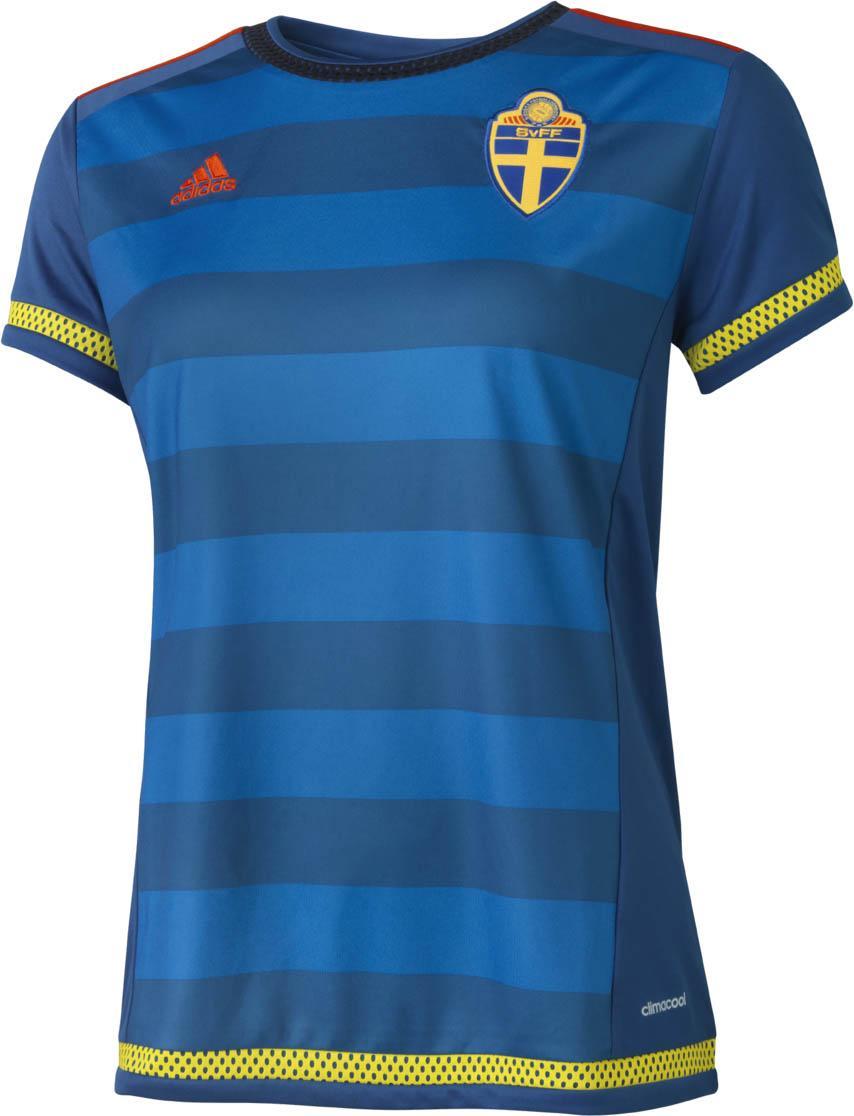 Sverige Bortatröja 2015 Dam