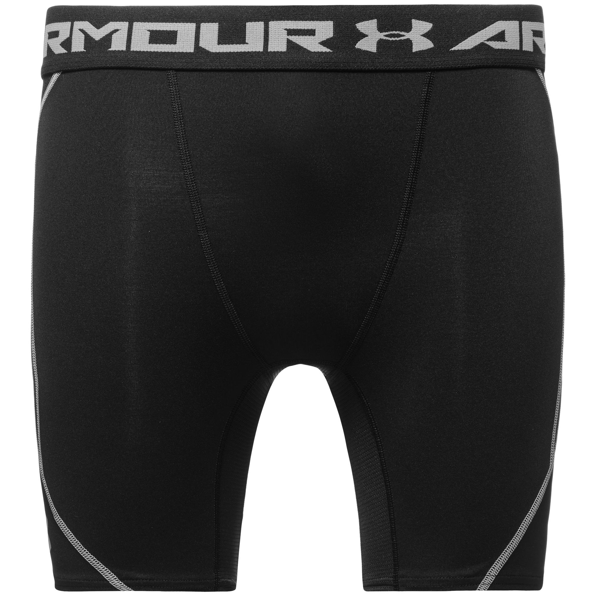 Under Armour HeatGear ArmourVent Compression Shorts Svart