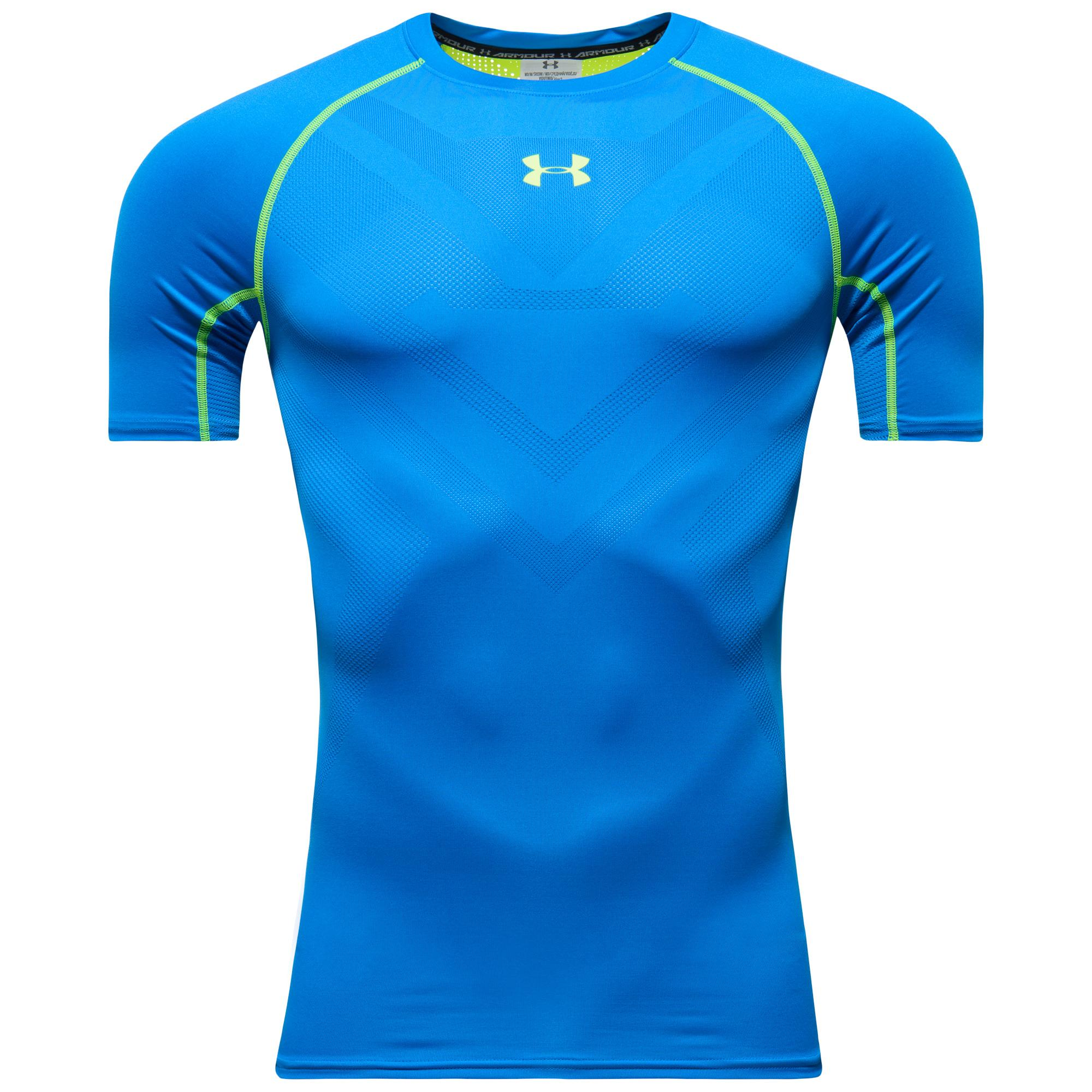 Under Armour HeatGear ArmourVent Compression K/Ä Blå