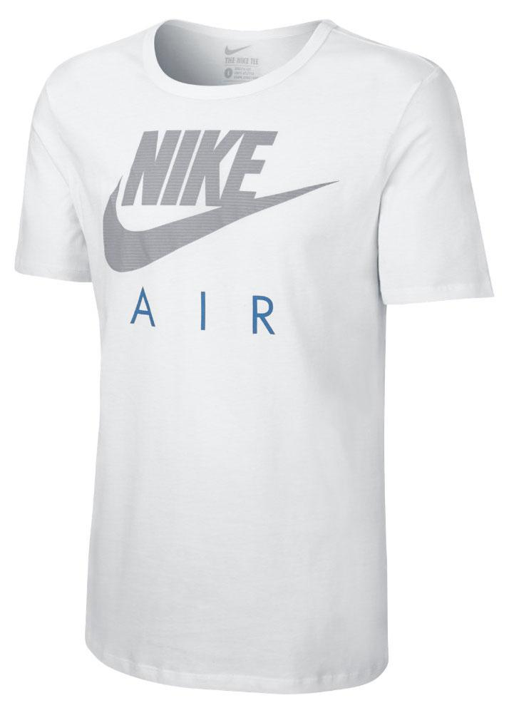 Nike T-Shirt Nike Air Puff Vit/Grå
