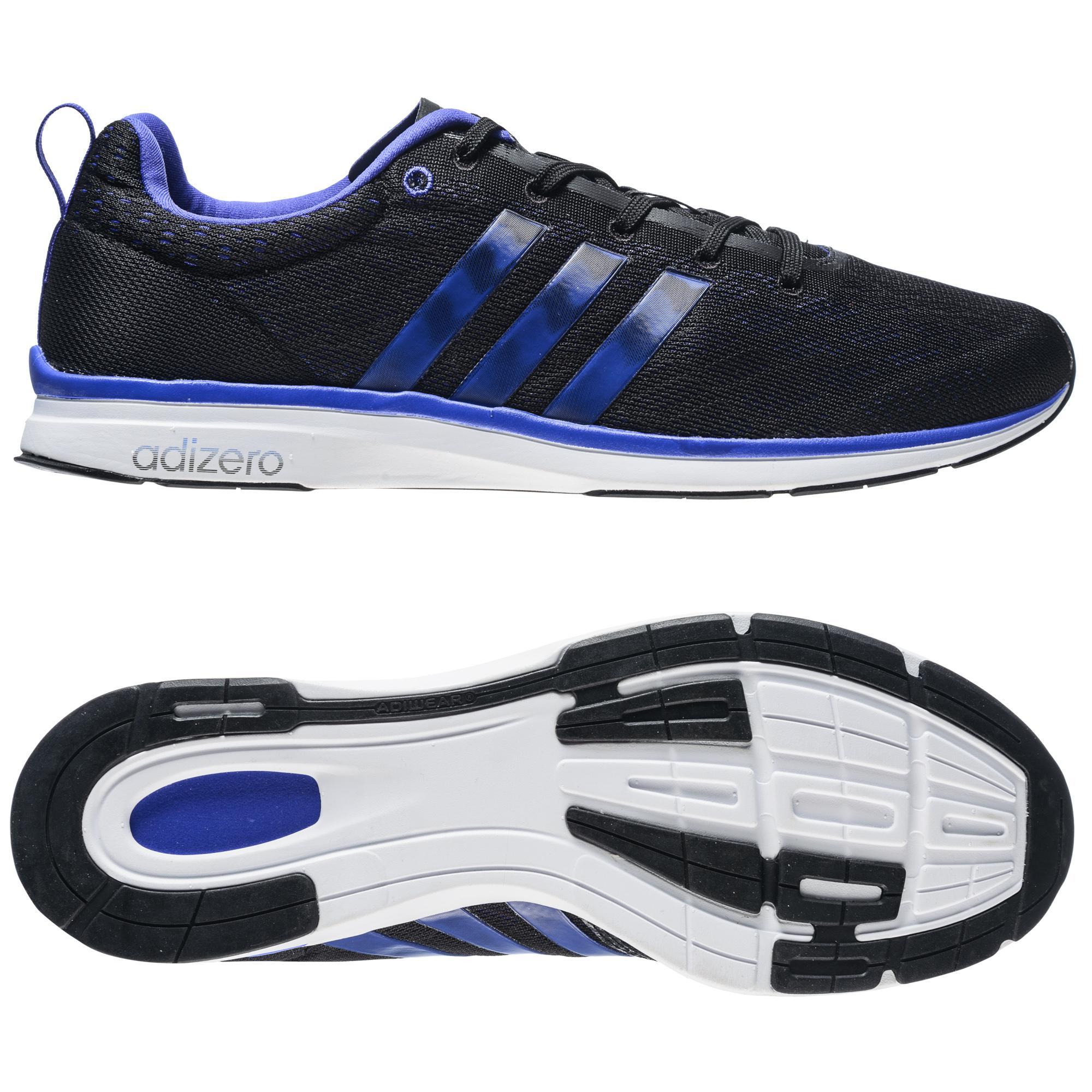 adidas Löparskor Adizero Feather 4 Svart/Lila/Vit