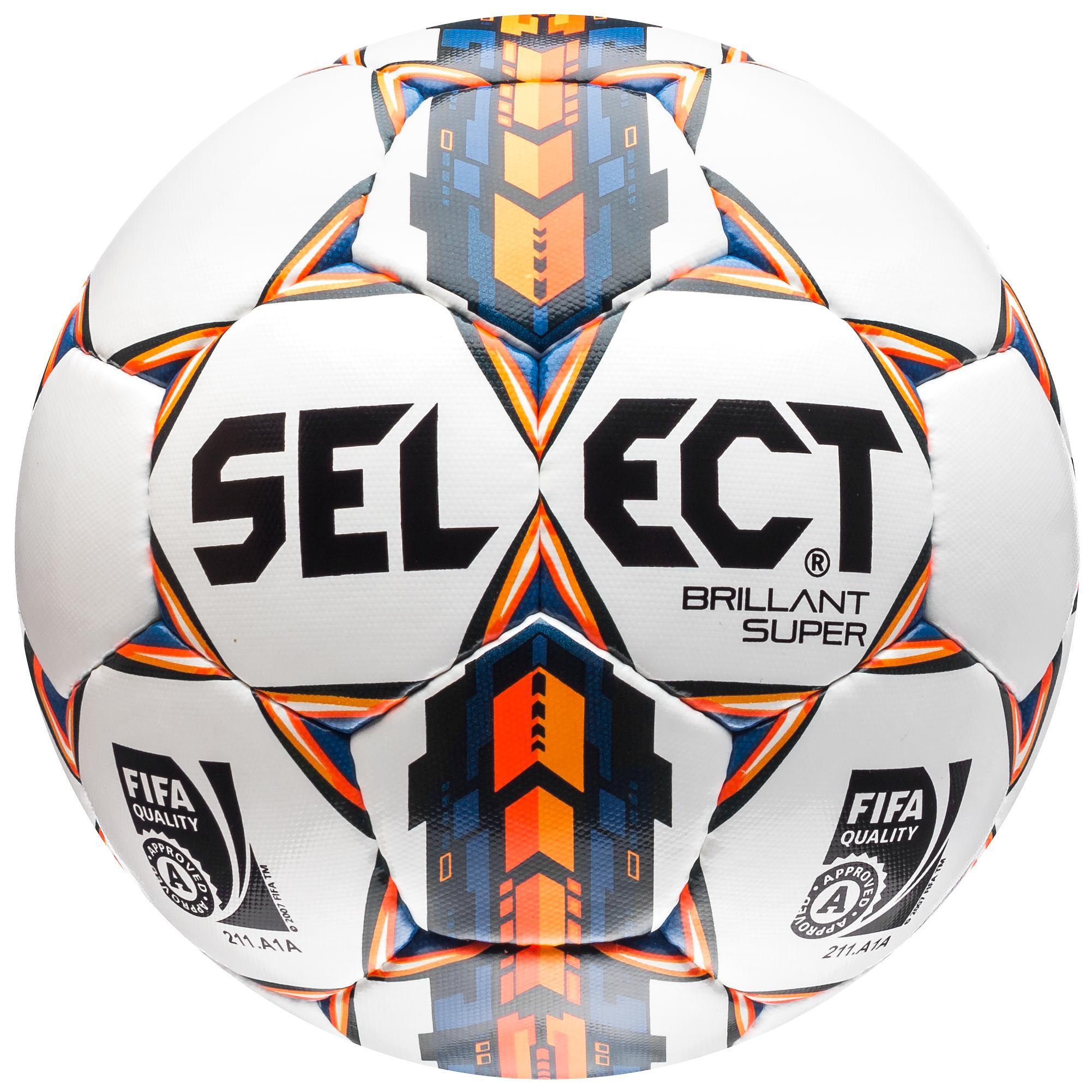 Select Fotboll Brillant Super Vit/Orange