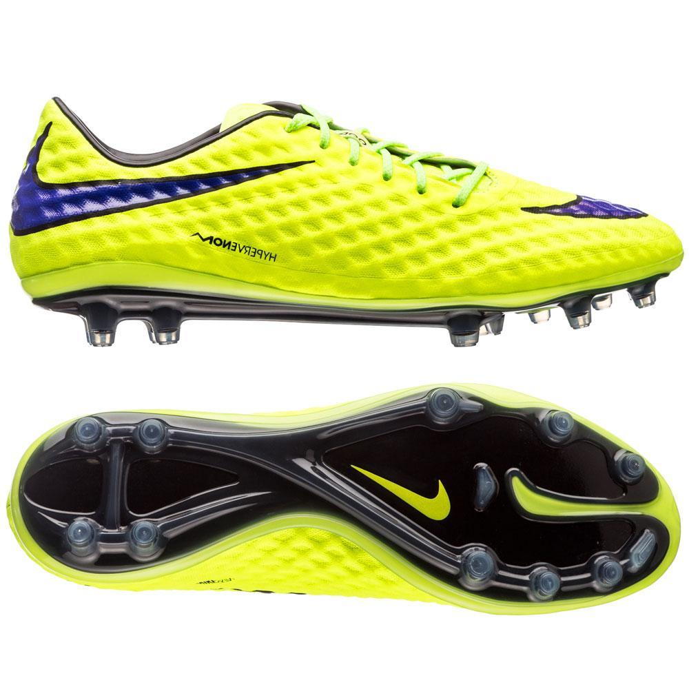 Nike Hypervenom Phantom FG Neon/Lila/Svart