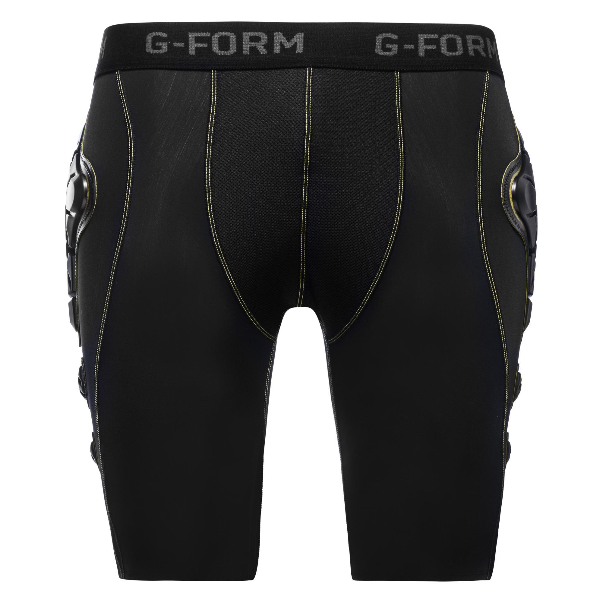 G-Form Tights Compression Pro-X Svart/Gul