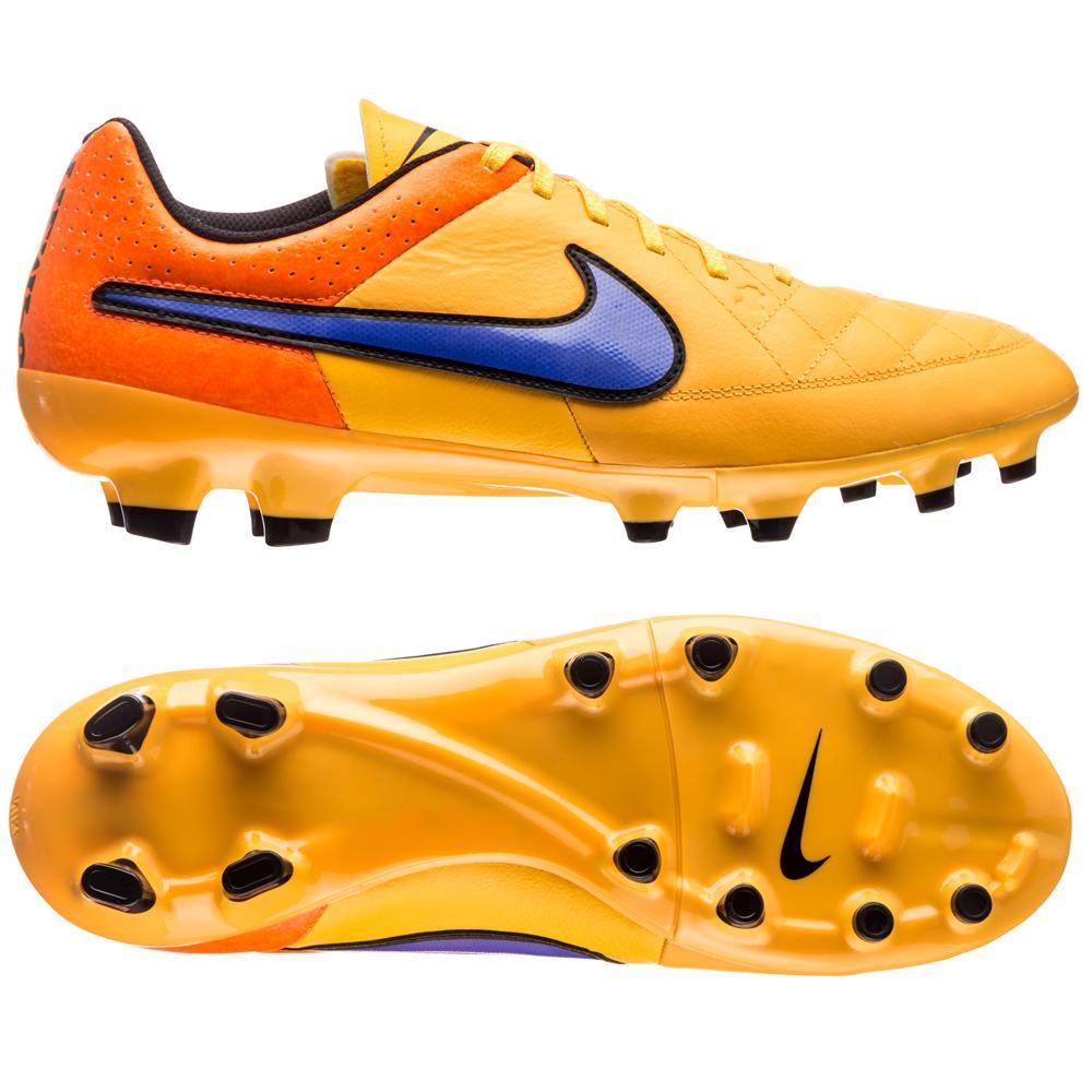 Nike Tiempo Genio FG Orange/Lila/Svart