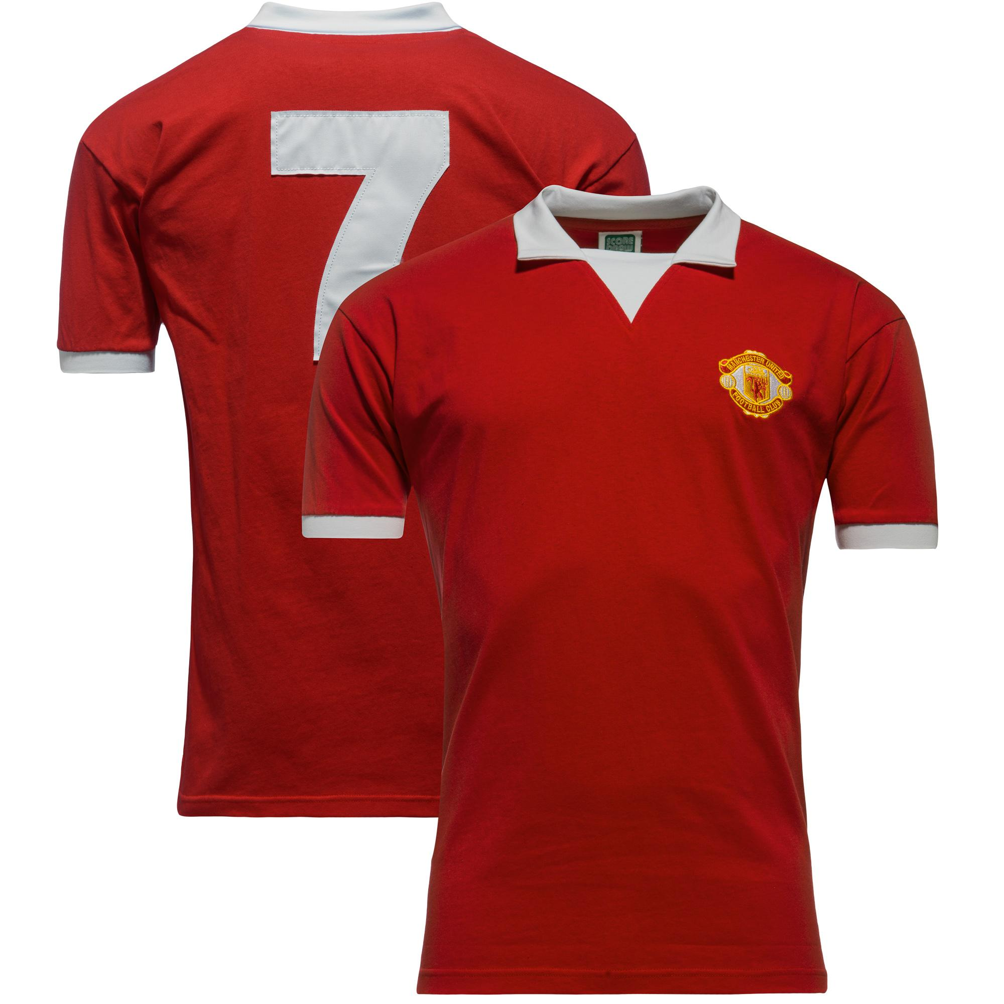 Manchester United Hemmatröja 1973/74 No. 7