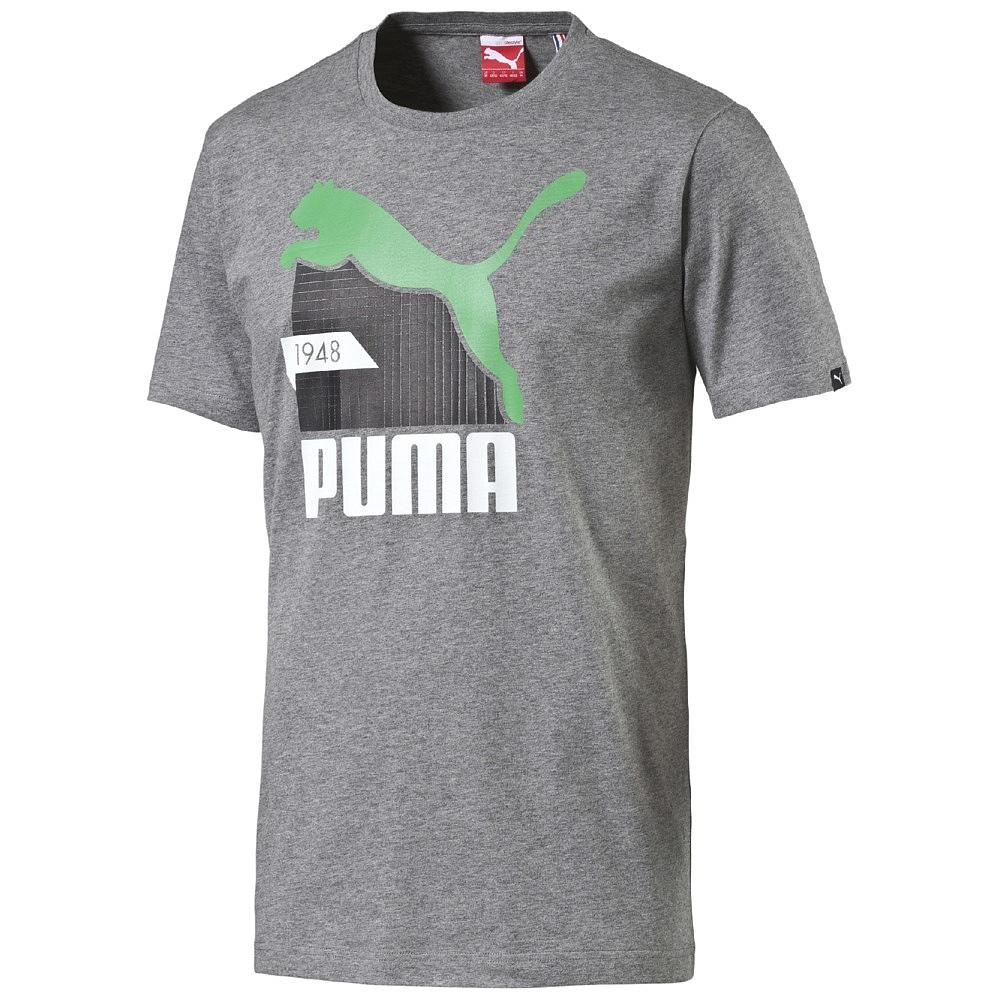 Puma T-Shirt Fun Cat Graphic Grå