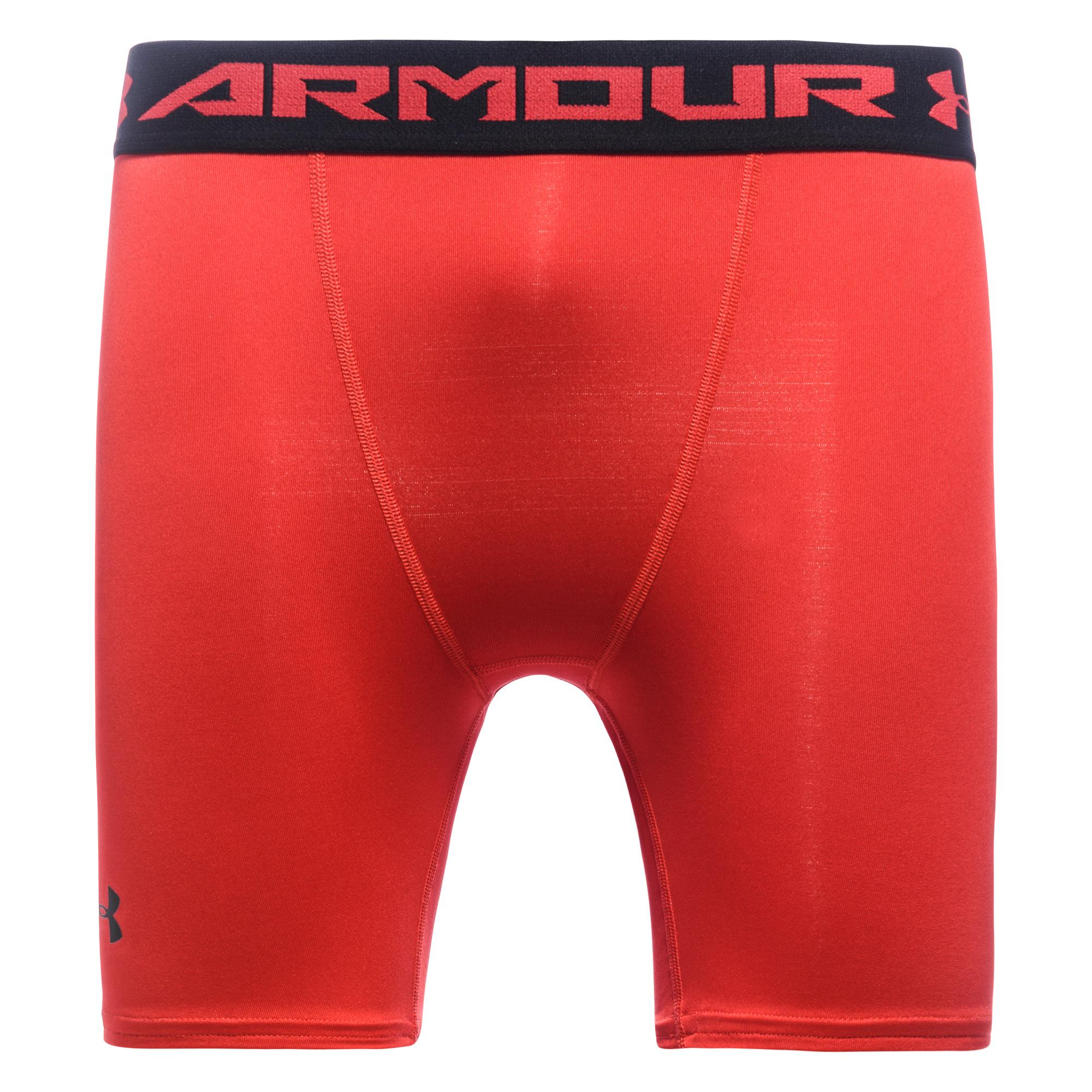 Under Armour HeatGear Compression Tights Röd