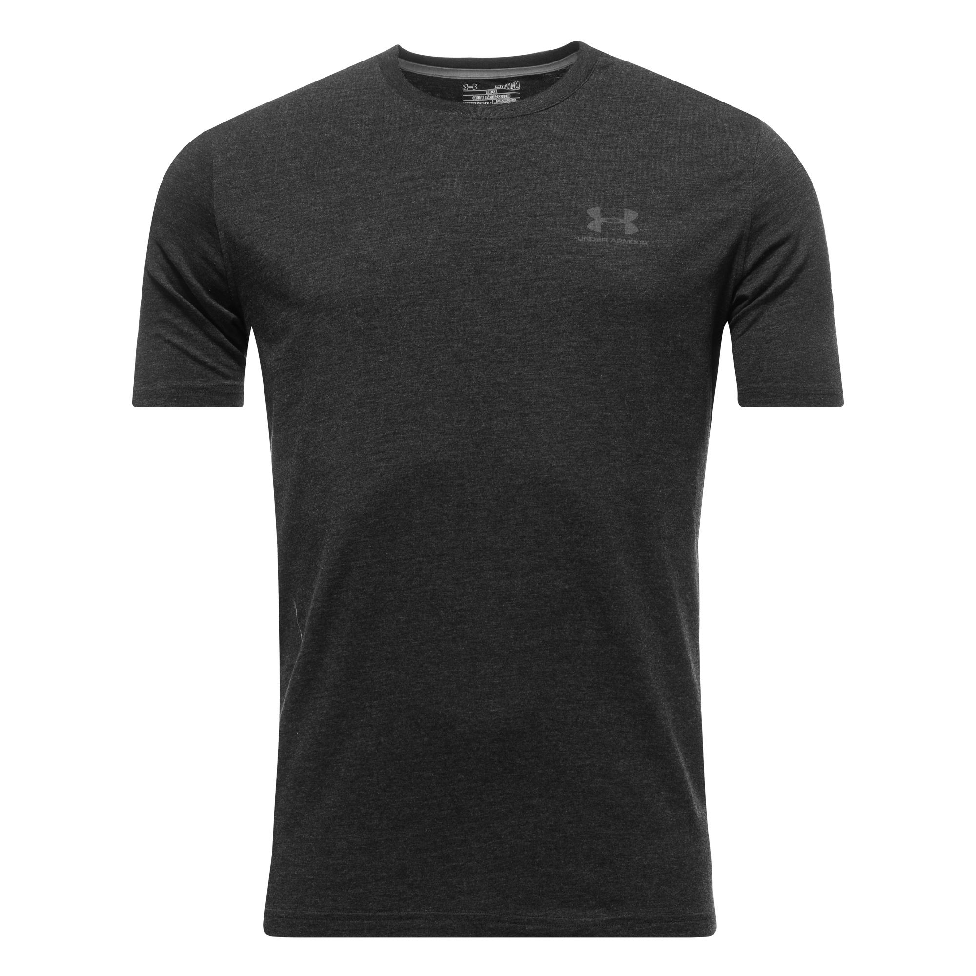 Under Armour T-Shirt Charged Cotton Svart