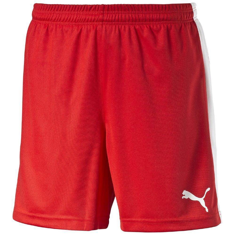 Puma Shorts Pitch Röd/Vit