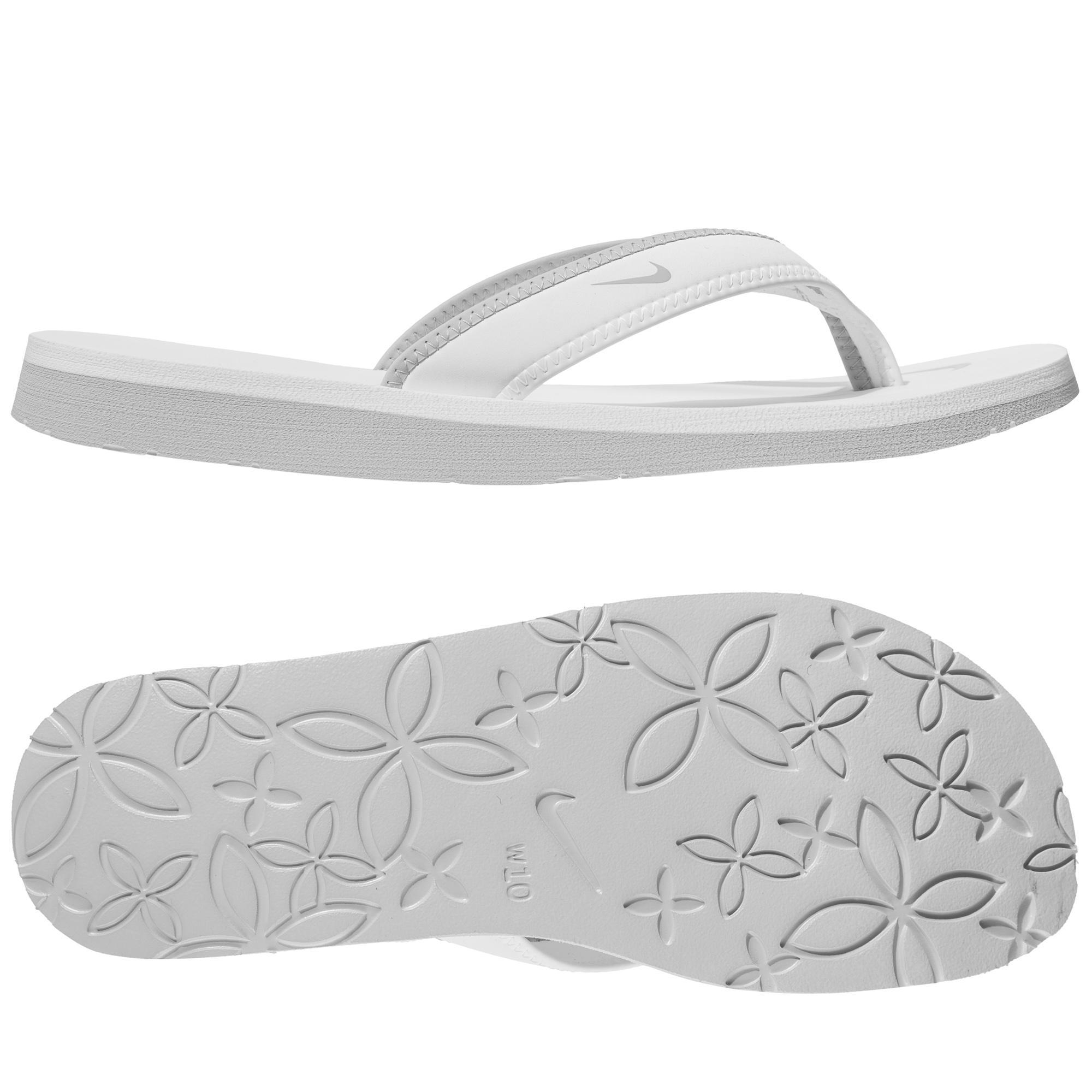Nike Badtofflor Celso Girl Thong Vit/Grå Dam