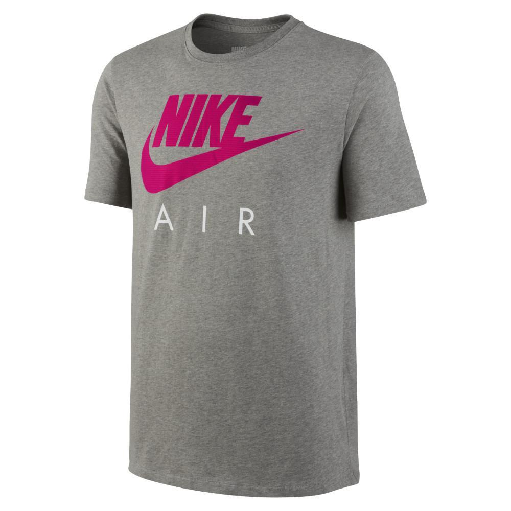 Nike T-Shirt Nike Air Puff Grå/Pink