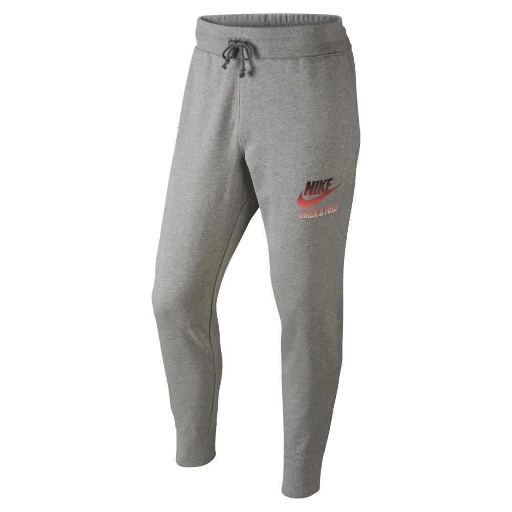 Nike Träningsbyxor Slim Cuff Track & Field Grå