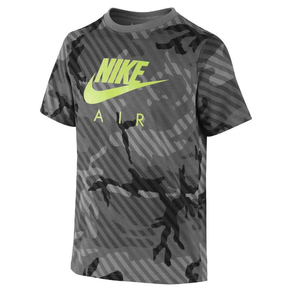 Nike T-Shirt CAT Seasonal Camo HBR Grå Barn
