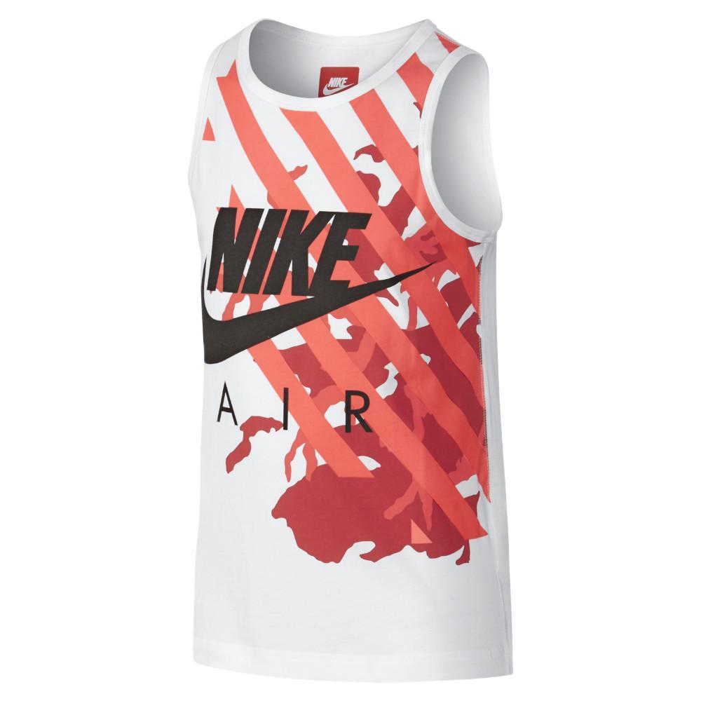 Nike Tank Top Camo Vit/Röd Barn