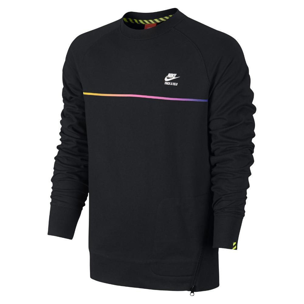 Nike Sweatshirt AW77 Track & Field Crew Svart