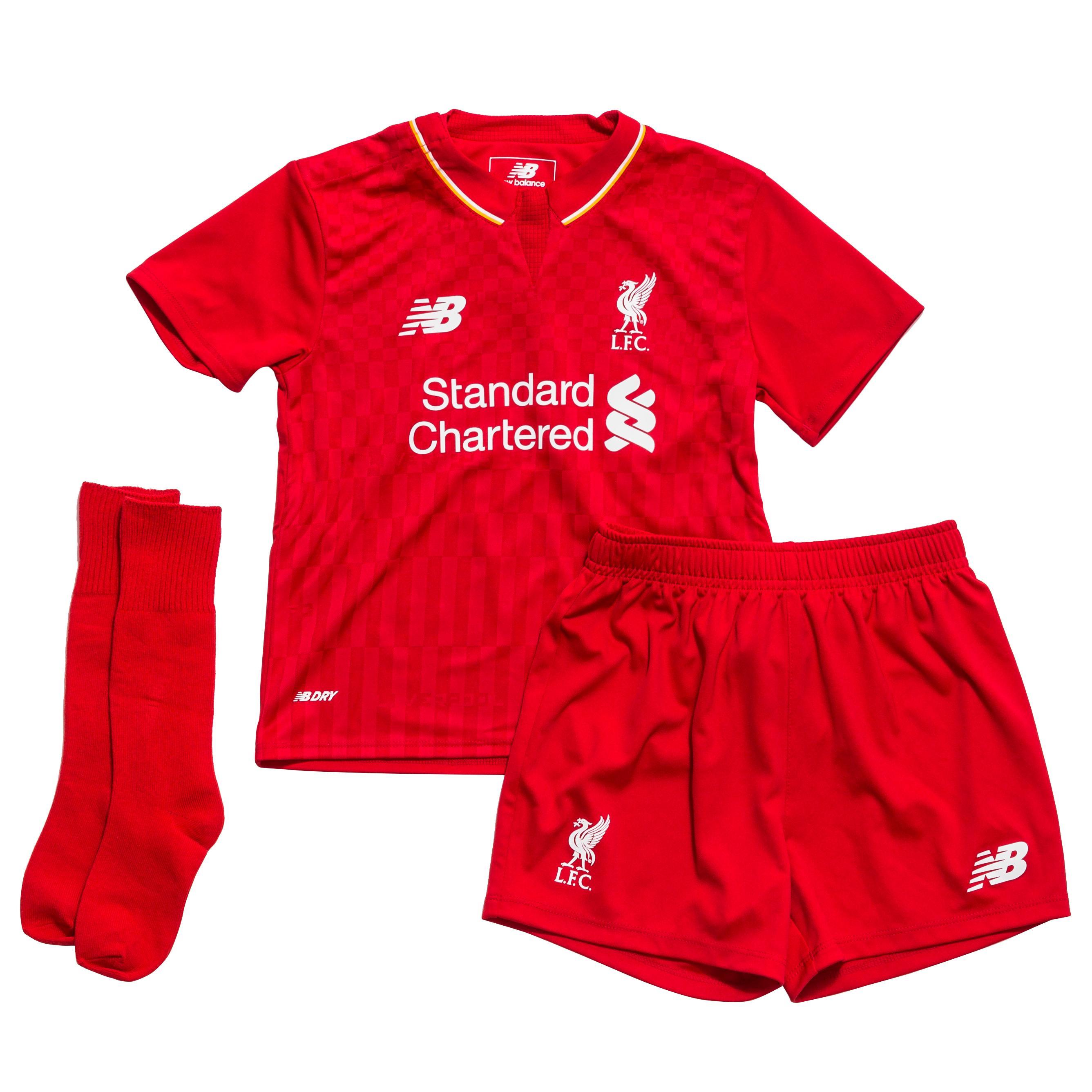 Liverpool Hemmaställ Mini-kit 2015/16