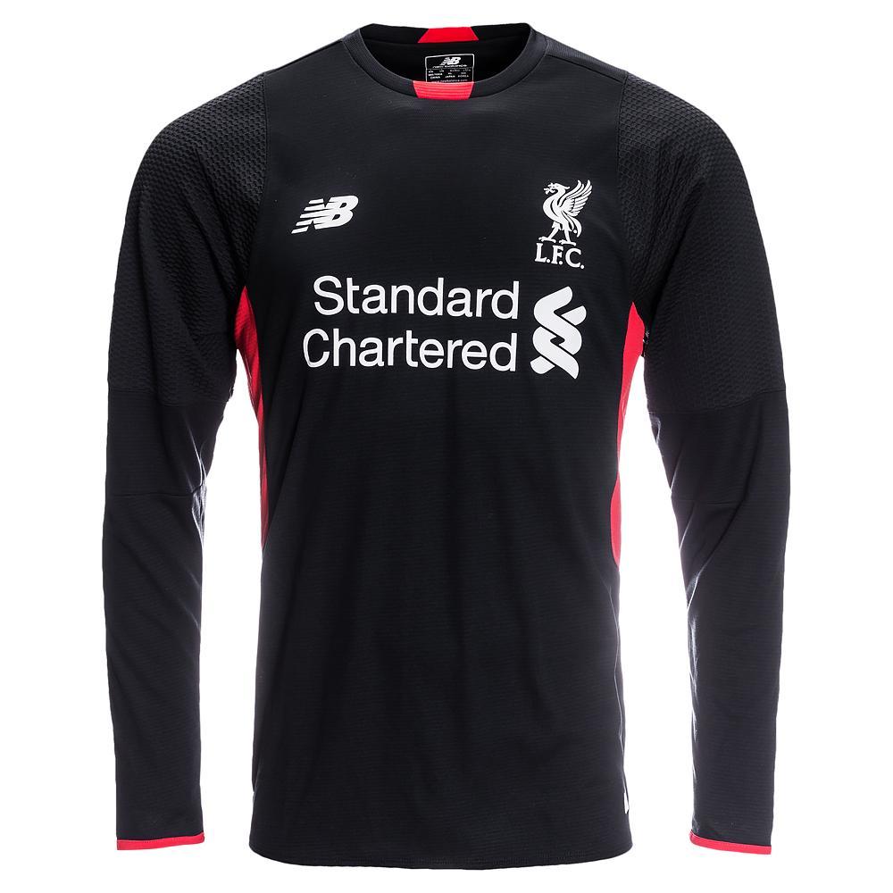 Liverpool Målvaktströja 2015/16 Svart Barn