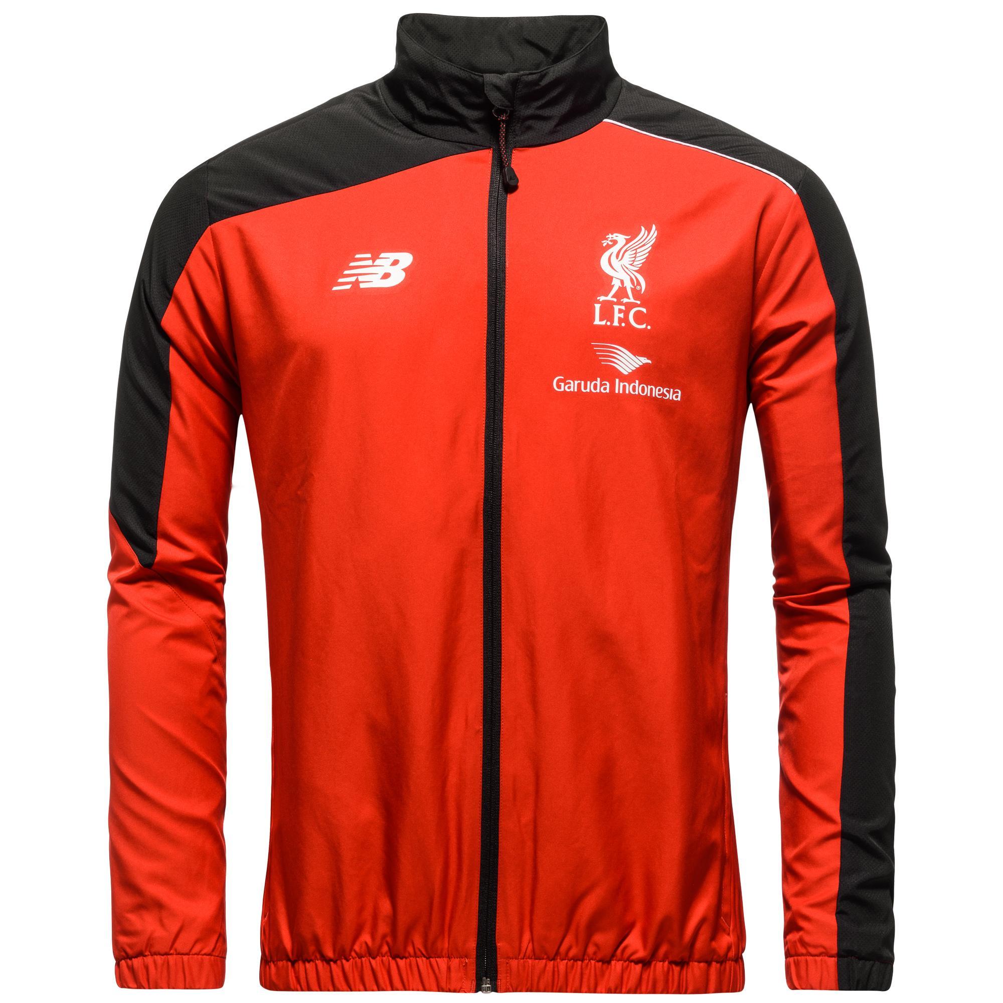 Liverpool Träningsjacka Presentation Röd/Svart