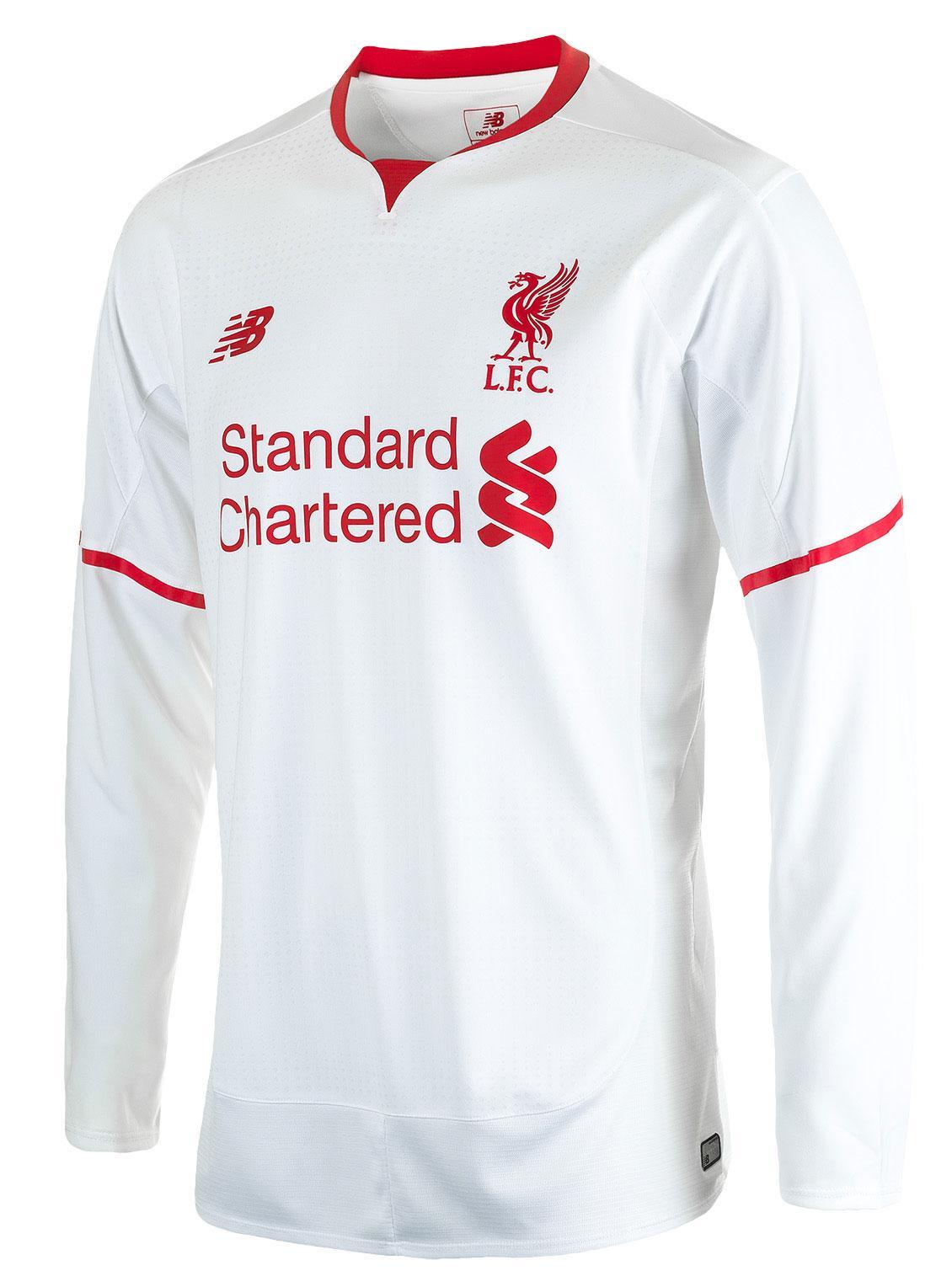 Liverpool Bortatröja 2015/16 L/Ä Barn