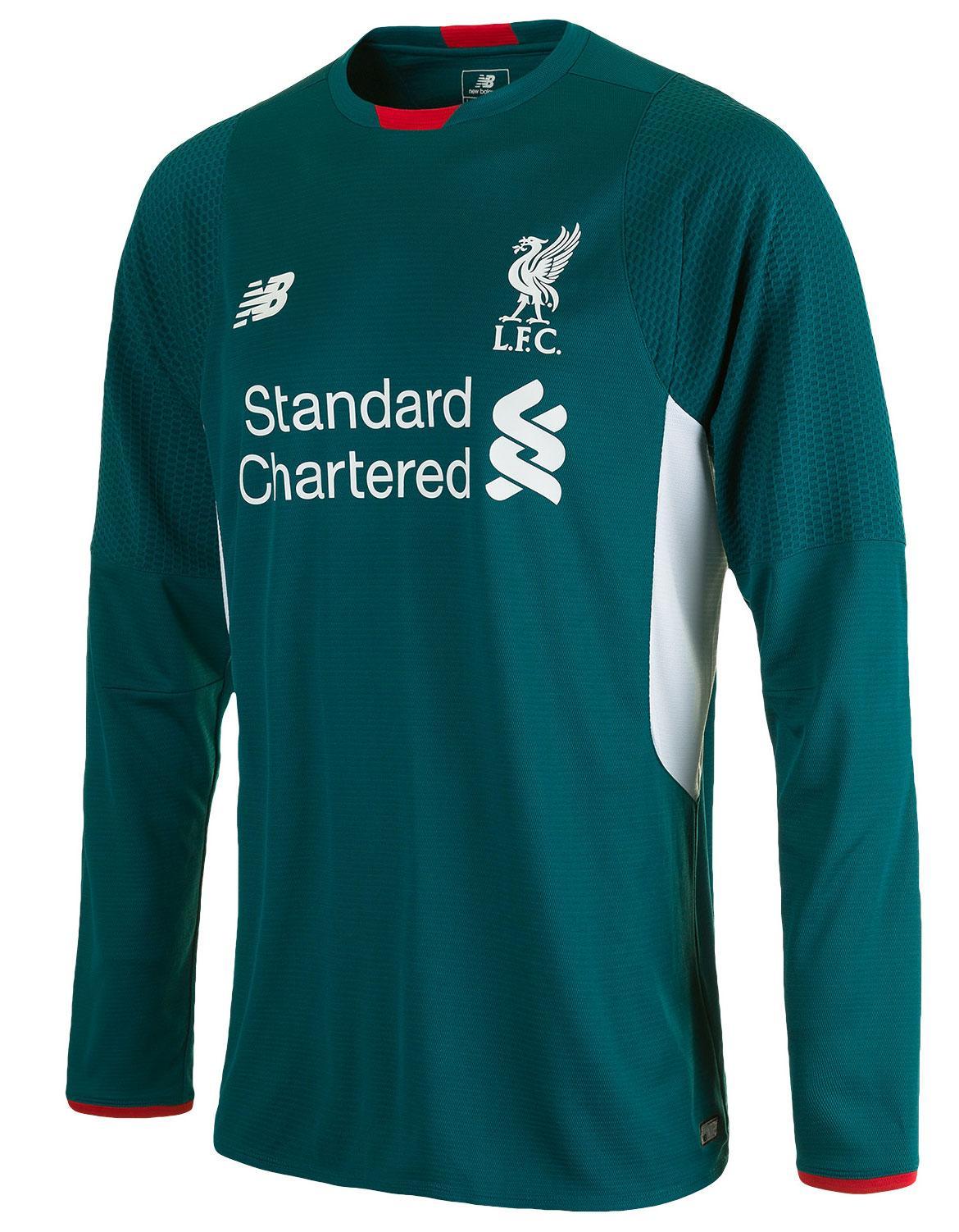 3b27b0d3bef Liverpool Målvaktströja 2015/16 Grön Barn